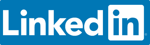 linked in logo text